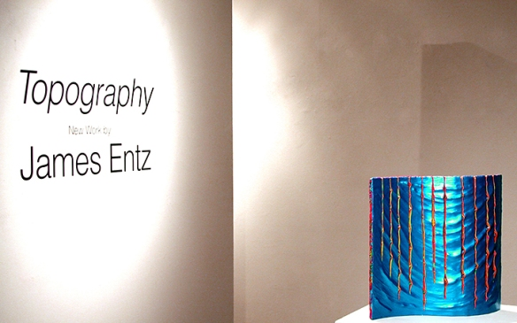 Entz at Fig Tree Gallery in July, 2013